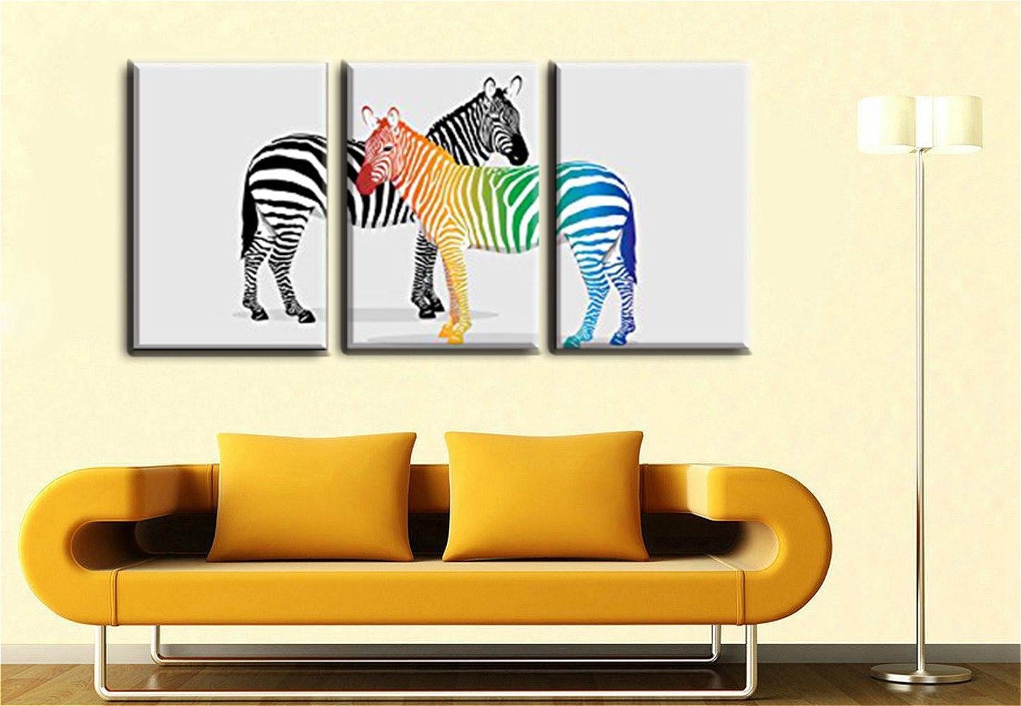 Abstract Animals Christmas Decoration Gift Black and White & Color ...
