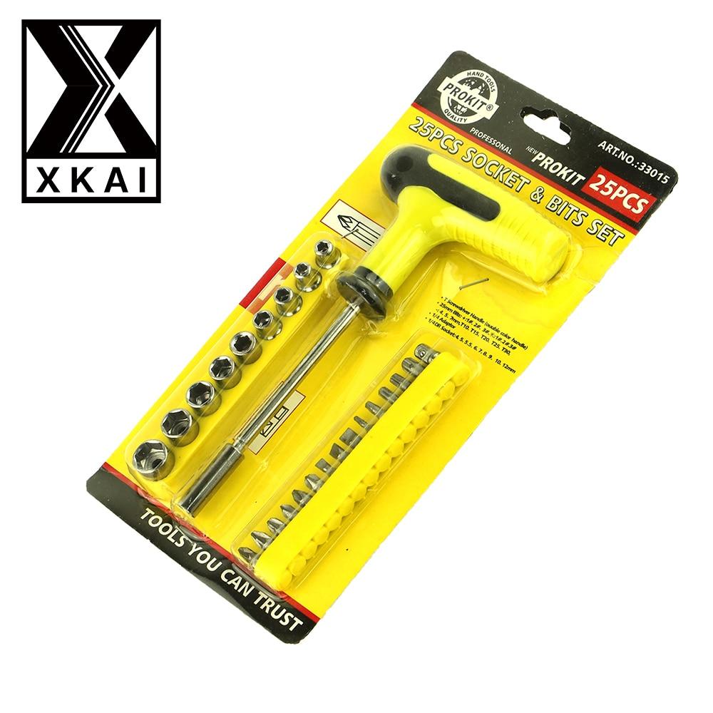 Xkai pieces mm socket wrench head metric