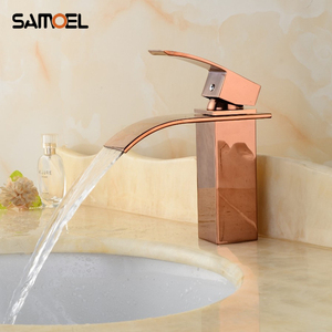 Samoel Rose Golden Bathroom Si