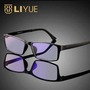 Image 5 - Computer Goggles women Anti blue ray Glasses men anti radiation Optical eyewear frame 100% UV400 Spectables frame 1308