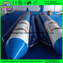 Guangzhou Qinda water play banana boats/inflatable sports aqua boat