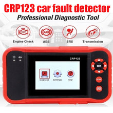 OBDⅡ Launch CRP123 ABS SRS Transmission Car Fault Scanner Red Auto Tool Creade