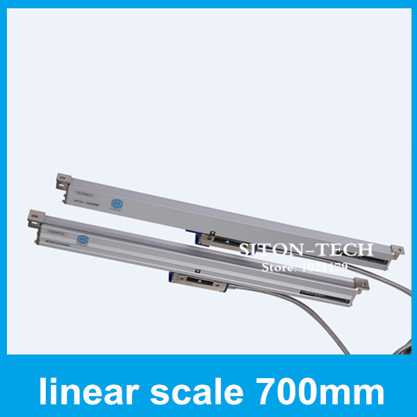 Free shipping encoder lineal Rational WTA5 700mm 0.005mm distance scales for Lathe accessories CNC  цены