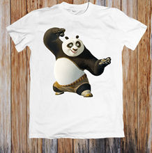 KUNG-FU PANDA UNISEX T-SHIRT MenS T-Shirts Summer Style Fashion Swag Men T Shirts. Print Shirt