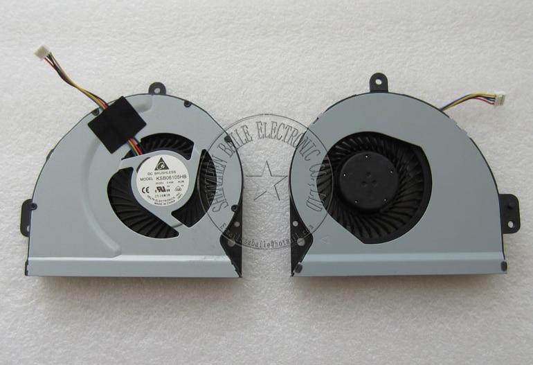 (10 шт./лот) новый Вентилятор Охлаждения Для ASUS X84 X84L A83SV X54h K53 K43 A43 A43S X43 X43S X43SC X53S K53S K53SJ A53S X84H BFB0705HA