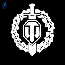 WORLD OF TANKS модифицированный автомобиль декоративные наклейки флаг военные заинтересованы в бак наклейки для Jeep Citroen Lexus skoda