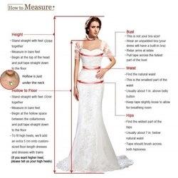 QFS024 robe de mariage Long Sleeves Lace Ball Gowns Wedding Dresses Beautiful Princess Bridal Dresses 2019 Vestidos De Noiva 5
