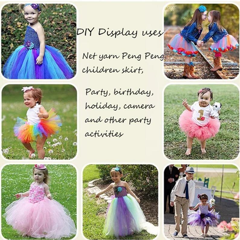 HTB1zG8DCHGYBuNjy0Foq6AiBFXal 25 yards 15cm Tulle Roll Fabric Spool Tutu Wedding Decoration Baby Shower Organza Laser DIY Crafts Birthday Party Supplies