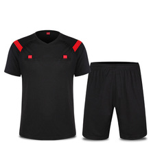 Shorts-Sets Referee Jersey Soccer EU Football Rofessional Competition-Training Umpire