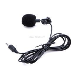 1 шт. мини Hands Free микрофон-гарнитура микрофон для компьютер, ноутбук, лептоп Skype 3,5 мм