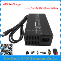 36V 5A Charger 42V 5A lithium charger use for 10S 36V ebike battery 42V5A Charger Fast shipping