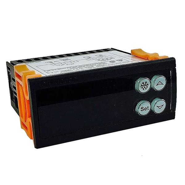 Elitech 240V Digital Temperature Controller Temp Sensor Thermostat ECS-02CX elitech digital temperature thermostat 2 relay output control