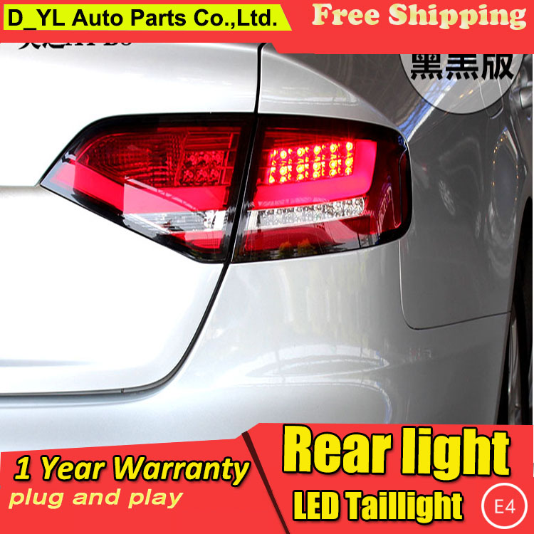Car Styling Tail Lamp for Audi A4 B8 LED Tail Light 2009 2012 New Altis LED
