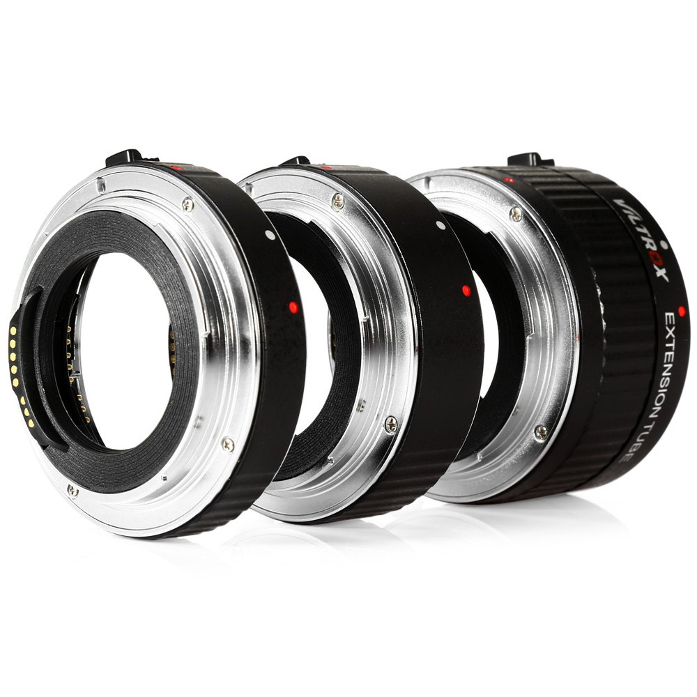 Viltrox Lens Adapter DG - C 12MM 20MM 36MM AF Auto Focus Metal Mount Macro Extension Tube Set for Canon EOS Series Camera