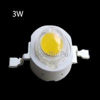 Free Shipping 50PCS 1W 3w High Power LED Lamps White Warm White 30mil 45mil Chips High