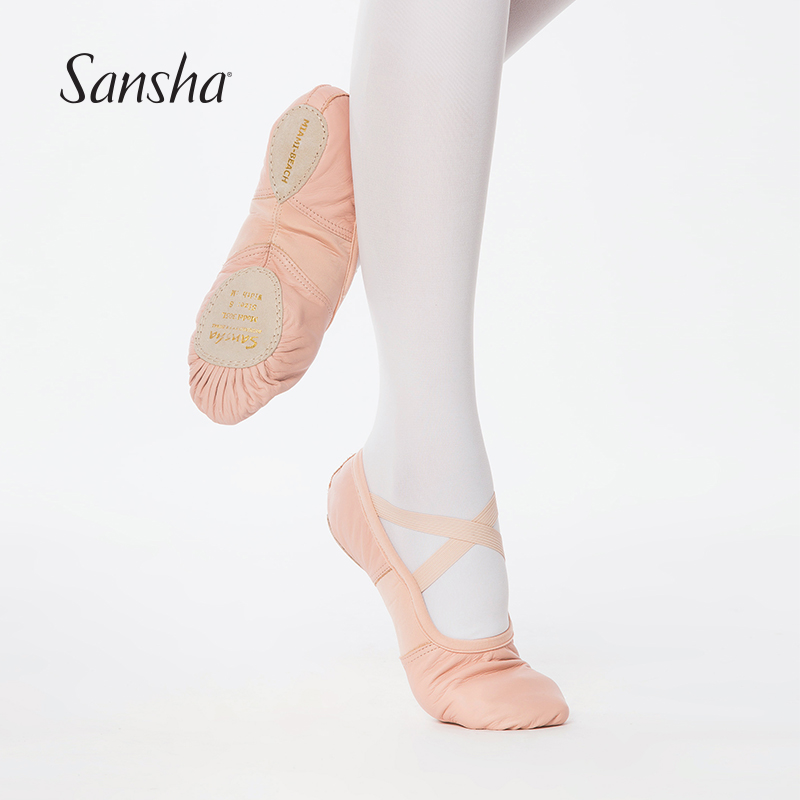Girl Women Adult Soft Bottom Ballet Dance Shoes Slippers Dancing Practice Shoes