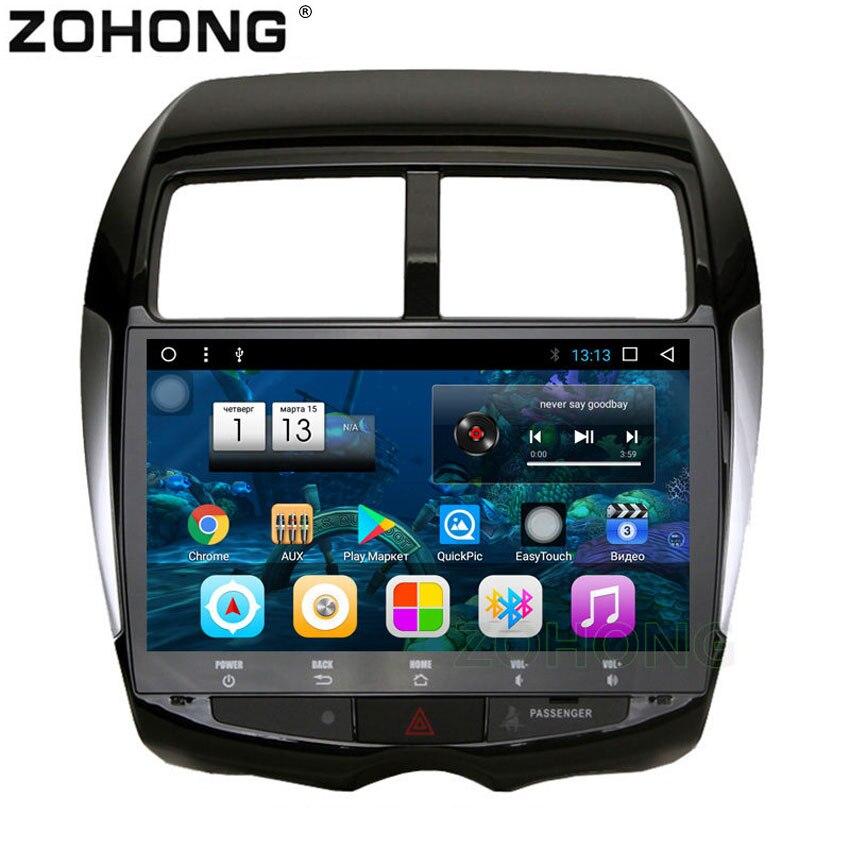 10 2 inch Octa Core Android 8 1 for Mitsubishi ASX RVR Outlander Spotr Car GPS