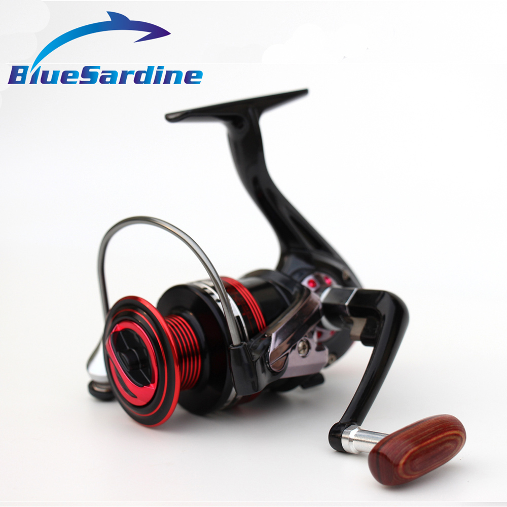 BlueSardine 13 BB 5.5: 1 Spinning Fishing Reel Carp Fishing Coil - Pescando