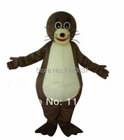 mascot Sea lions Mascot Costume Cartoon Character Sea Animal Party Costumes Adult Size Fancy Dress Carnival Costume Suit