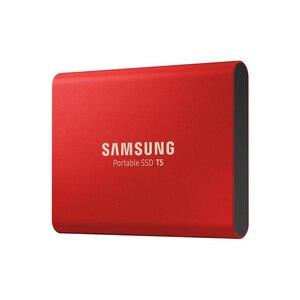 Image 2 - SAMSUNG External SSD T5 USB3.1 USB3.0 250GB 500GB 1TB Hard Drive External Solid State Drives HDD Desktop Laptop PC disco duro