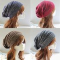 European Style 2016 Fashion Casual Quality Unisex Warm Winter Hat, Female Male Hip-Hop Two-colour Knitting Slouchy Beanie Caps