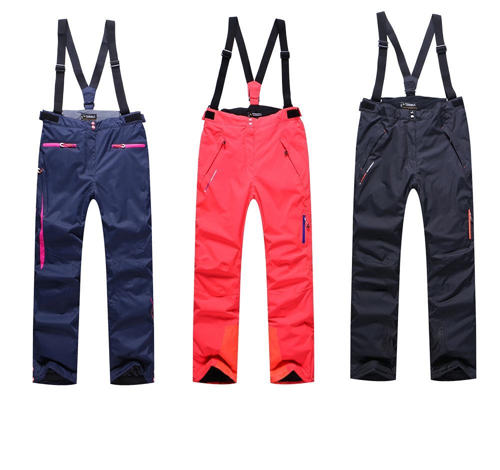 Pantalon de Ski chaud imperméable extrêmement résistant au froid pantalon de Ski de haute qualité pantalon de sport de plein air d'hiver pantalon de Snowboard solide