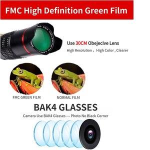 Image 5 - Lente teleobjetivo 4K HD para teléfono móvil, Zoom óptico Universal, telescopio Monocular de 22x, prismáticos, lupa telescópica, Spyglass/trípode