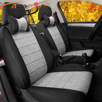 AutoDecorun Cover Seats Car for Chevrolet Spark 2010 2013 Car Seat Covers Set Accessories Linen Seat Supports Interior Protector
