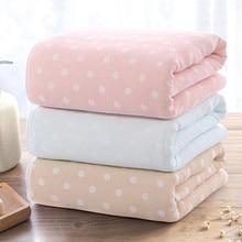 Детское одеяло из хлопка; одеяло для новорожденных; 70*135 см; пеленка для маленьких мальчиков и девочек