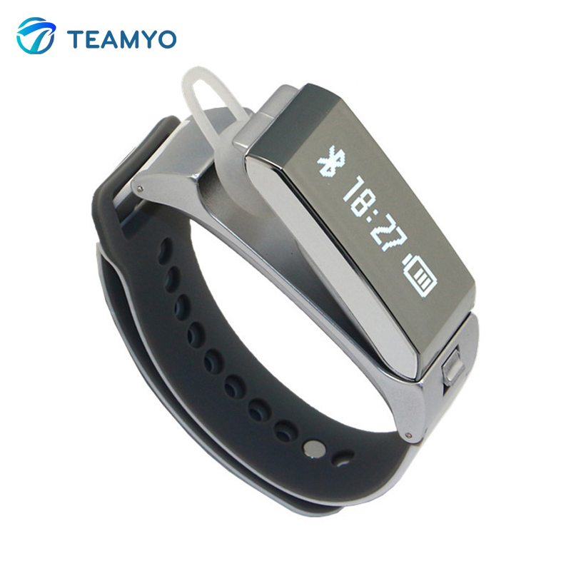 TalkBand K2 Blutooth Smart Wristband Smart Band Bracelet For Android IOS IPhone Fitness Tracker Call Remind Removable SmartBand