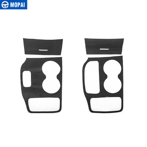 Image 5 - MOPAI ABS Car Interior Door Anti Kick Gear Shift Panel Cup Holder Trim Sticker For Jeep Grand Cherokee 2011 Up Car Styling