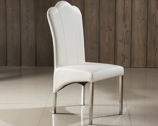 MTBESTFURN Designer Chair Dining Room Chairs With High Back Restaurant  Chairs With Stainless Steel Foot Elegant