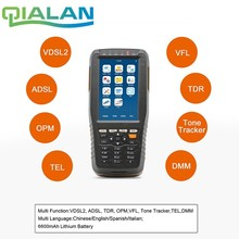 OTDR Tester Optical Time Domain Reflectometer VDSLTester (ADSL/VDSL/OPM/ VFL/TDR Function/Tone Tracker Fibra Optica Tester