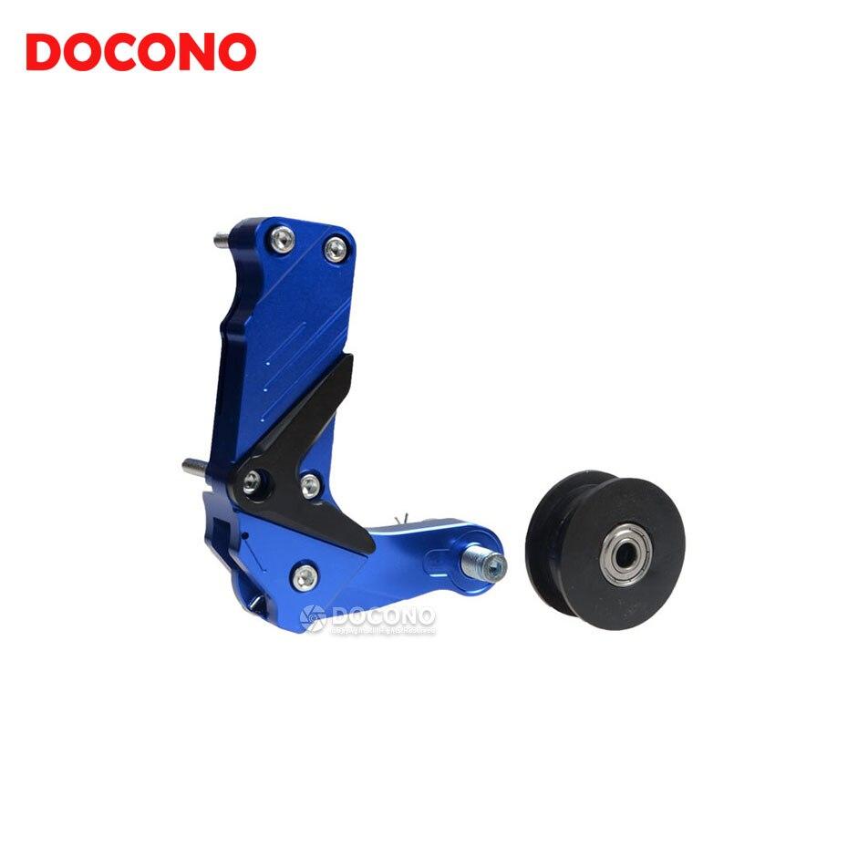 DOCONO Motorcycle CNC Aluminum Chain Auto Tensioner For Yamaha Raptor 700 Xjr400 Ybr 125 Parts Xvs 1100 Wr450f Yz250f Fz8