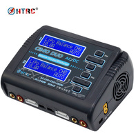 HTRC C240 DUO AC 150W DC 240W Dual Channel 10A RC Balance Charger Discharger For LiPo