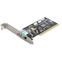 DIEWU High Quality virtual 32-bit PCI 4 CH Channel 3D Sound Audio Card