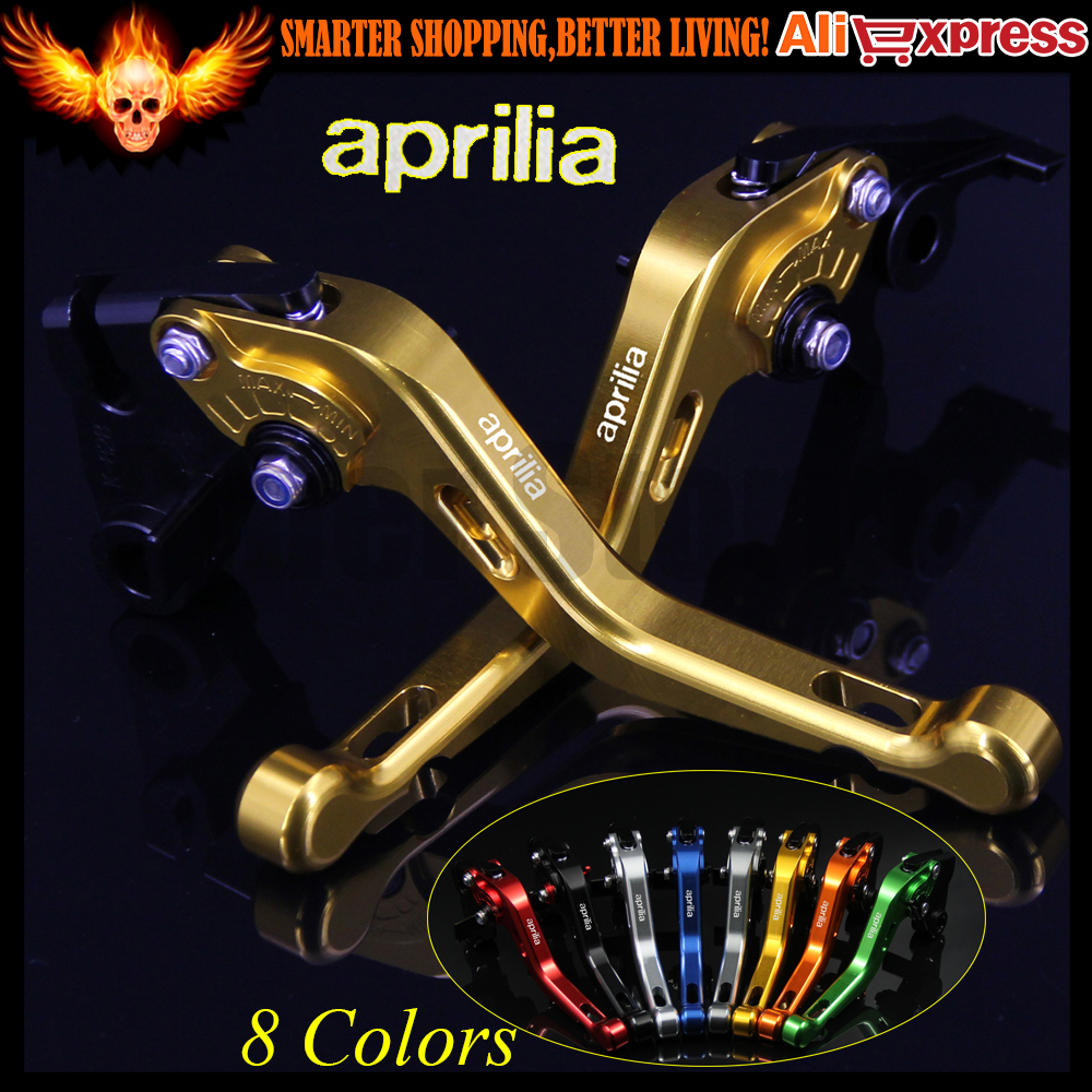 ФОТО 8 Colors Gold  CNC Aluminum Motorcycle Short Brake Clutch Levers for Aprilia FALCO / SL1000 2000 2001 2002 2003 2004