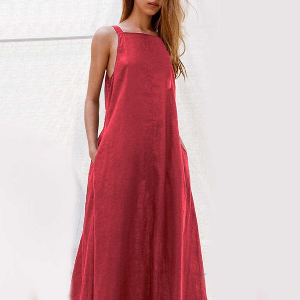 Женское пляжное летнее платье с глубоким v-образным вырезом в стиле ретро, модные вечерние однотонные сексуальные платья