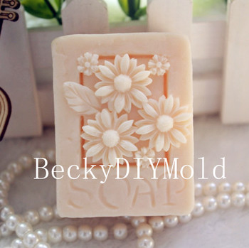Wholesale 1pcs chrysanthemum soap zx34 silicone handmade soap mold crafts diy mould.jpg 350x350