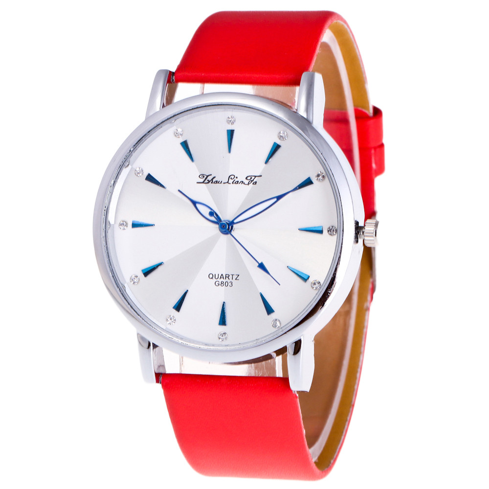 Fashion Classic Vintage Magic Roman Numerals Dial Alloy Leather Strap Quartz Wristwatches Watch for lover wholesale