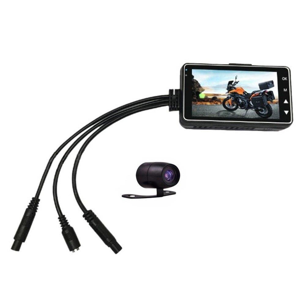 LCD HD Moto Moto Action Double Caméra Vidéo Enregistreur Étanche L'adoption 4g large-angle professionnel lentille