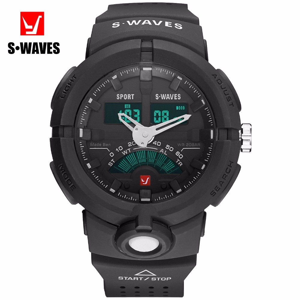 Marca Sport Relojes Hombres Cuarzo LED Analógico G Style Shock - Relojes para hombres