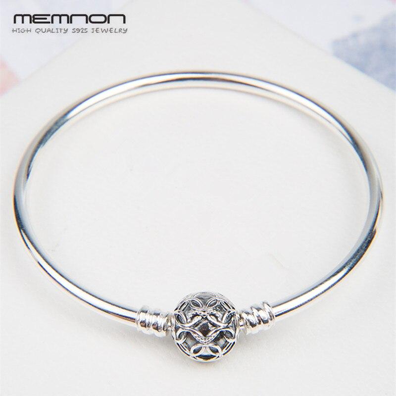 Silver bracelets Limited Edition Pattern of Love Clasp bangles for women 925 sterling silver jewelry Fit Charms Beads Diy YSZ079Silver bracelets Limited Edition Pattern of Love Clasp bangles for women 925 sterling silver jewelry Fit Charms Beads Diy YSZ079