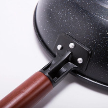 Xidealife Non-stick Korea Maifan Stone Frying Pan High Quality Flat Bottom Cookware Use For Gas and Induction Cooker