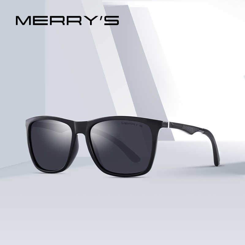 MERRYS дизайн Для мужчин HD поляризованные очки спортивные очки для рыбалки Алюминиевые ножки UV400 защиты S8186