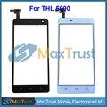 """Top Quality 5.0 """"Para THL 5000 THL5000 Painel Touch Screen Digitador Sensor de Vidro Substituição Negro Cor Branca Frete Grátis"""