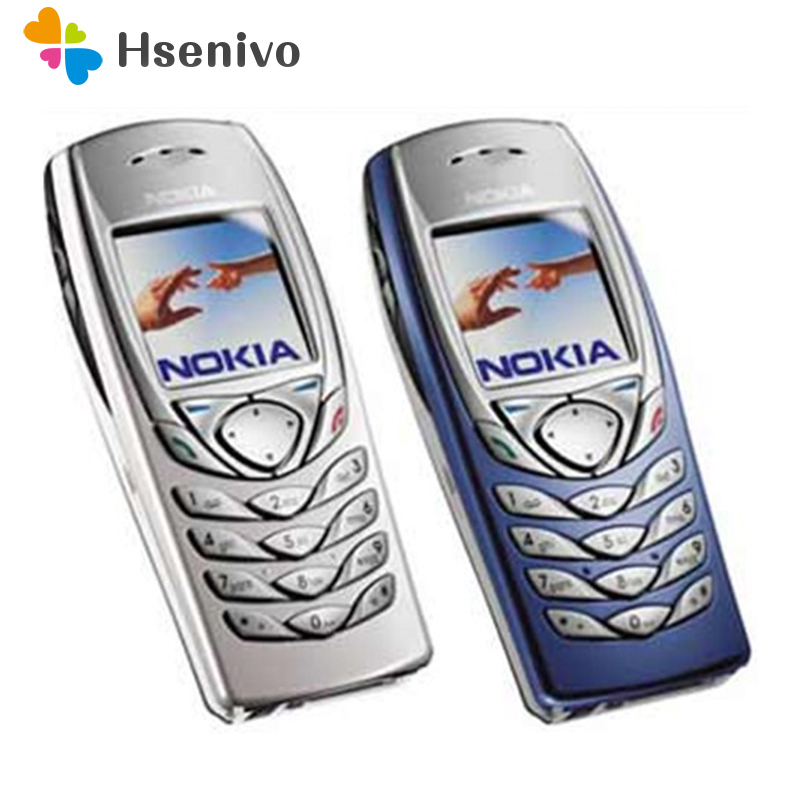 Débloqué 100% D'origine NOKIA 6100 Pas Cher Téléphone Mobile GSM Soutien langue Multilingue rénové Livraison gratuite