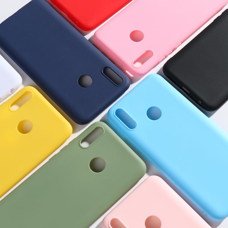 <font><b>Huawei</b></font> Y9 <font><b>2019</b></font> <font><b>Cases</b></font> Silicon For <font><b>Huawei</b></font> P Smart 2018 Z <font><b>Y7</b></font> Y6 Y5 Prime Y3 2017 II Nova 4 2S 2 Plus P9 Lite Mini <font><b>Case</b></font> Cover Bumper image
