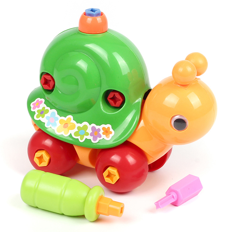 Kids Animal Puzzle Educational Toys Kids Disassembly Assembly Cartoon Toy