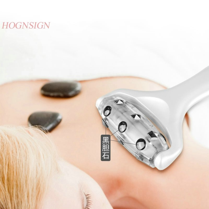 high quality Face-lifting V face thin double chin manual facial lifting firming red light beauty instrument facial massager